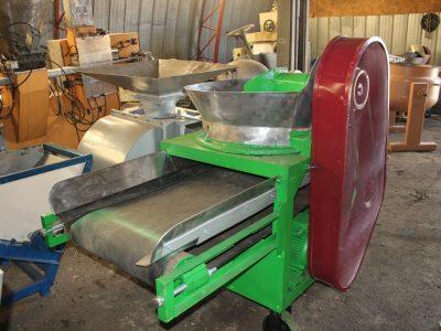 Машина для шинкування капусти, цибулі, яблук МШ-5000, МШ-10000 з серповидним або прямим ножем